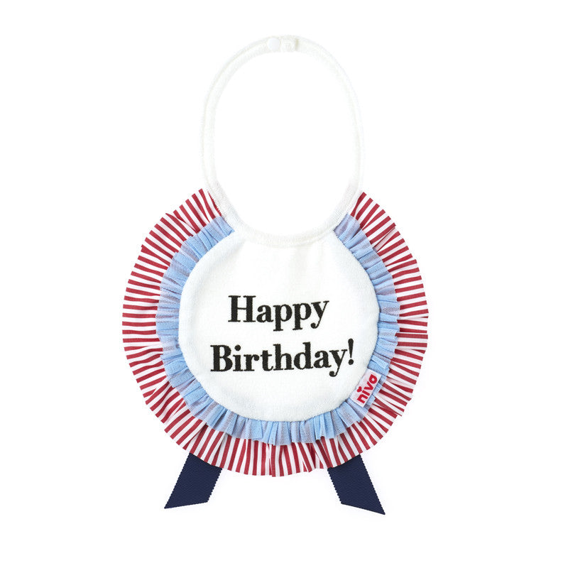 [New!] Niva-バースディビブ♡ Birthday bib