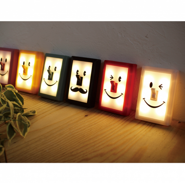 [30% off SALE] Time Concept - スマイルスイッチ携帯ライト SMILE SWITCH LED LIGHT