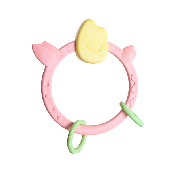 People Toy Company お米のなめかみ 【いろどり】-Mochi Teething Ring