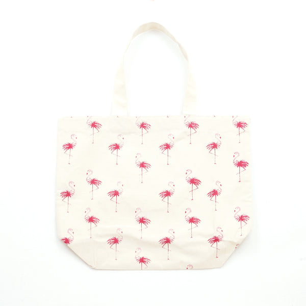 Cameron Hawaii -ビーチバッグ【FLAMINGO】 Beach Bag: FLAMINGO
