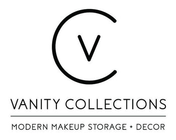 Vanity Collections   Modern Makeup Storage Decor Beauty Room Cosmetic