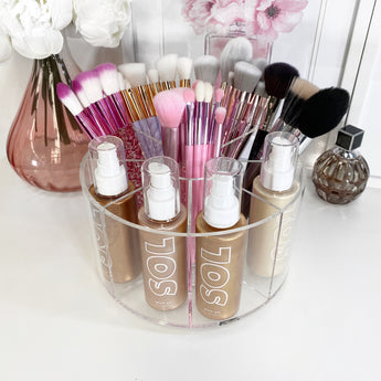 NEW! VC ROTATING MAKEUP CADDY