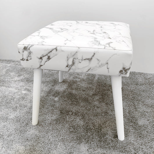 NEW! VC MARBLE VANITY STOOL