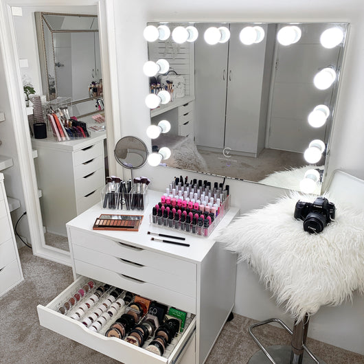 Vc Salon Pro Hollywood Mirror Vanity Collections