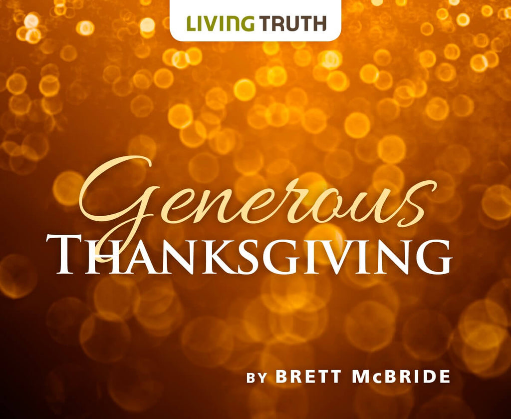 DVD: Generous Thanksgiving