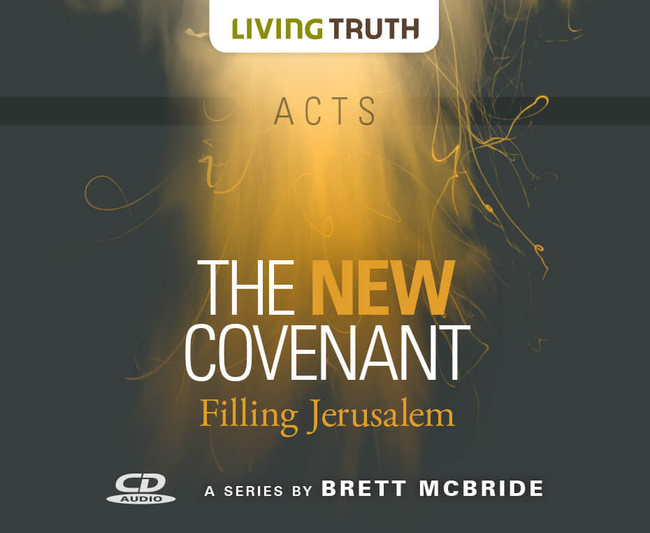 CD: The New Covenant: Filling Jerusalem (Acts) 6 Part Series