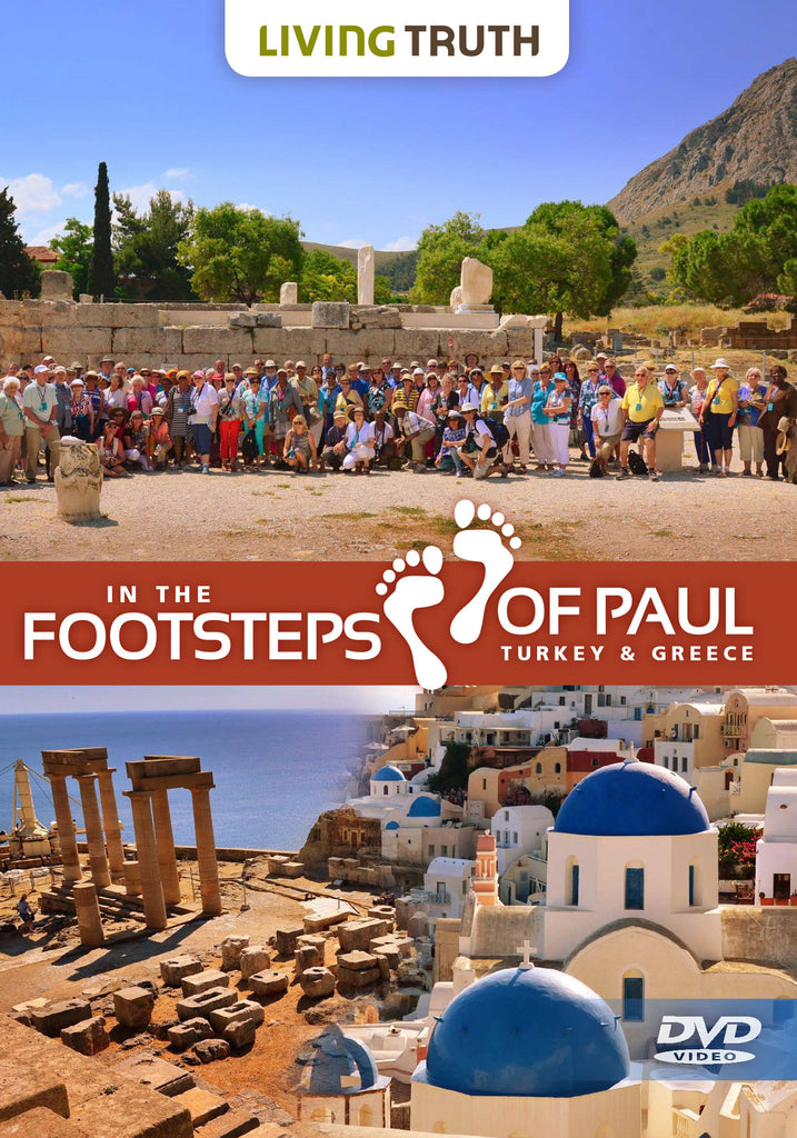 DVD: In the Footsteps of Paul (4 Part Series)