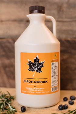 Sirop d'érable 2 litres - Maple syrup 2 liters