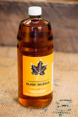 Sirop d'érable 1 litre - Maple syrup 1 liter