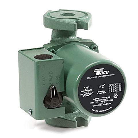 Taco cast iron 3 speed circulator pump 0015-MSF3-IFC