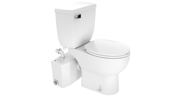 Saniplus Mascerating Pump and Toilet Upflush System Round Bowl