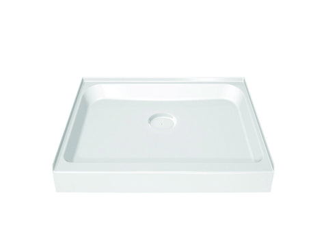MAAX 36 inch x 36 inch acrylic shower base in white 105051-000