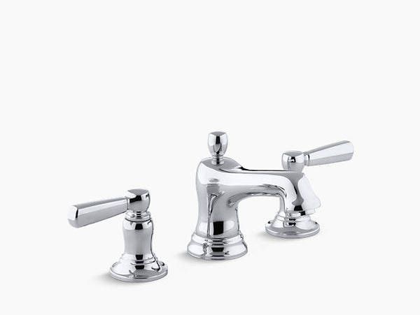 Kohler Bancroft Two-Handle Widespread Lavatory Faucet K-10577-4-CP Chrome