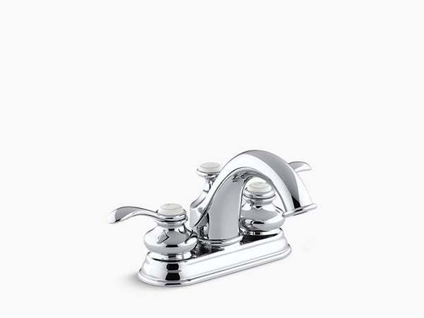 Kohler Fairfax Two-Handle Centerset Lavatory Faucet K-12266-4-CP