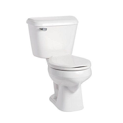 Mansfield Alto Round Bowl Toilet 14 inch Rough-In 130-125-WHT