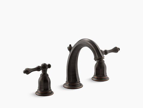 Kohler Kelston Two-Handle Widespread Lavatory Faucet K-13491-4-2BZ Oil Rubbed Bronze