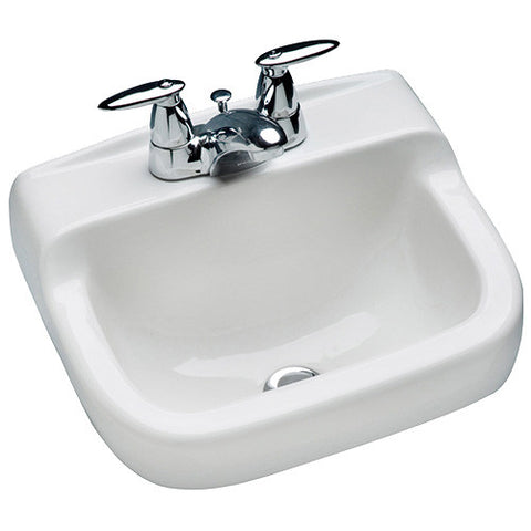 Mansfield Spruce Cove Wall-Hung Sink 1613NS-WHT White