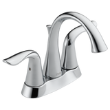 Delta Lahara Two Handle Centerset Lavatory Faucet Metal Pop-up 2538-MPU-DST Chrome