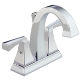 Delta Dryden Two Handle Centerset Lavatory Faucet Metal Pop-up 2551-MPU-DST Chrome
