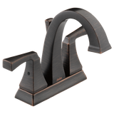 Delta Dryden Two Handle Centerset Lavatory Faucet Metal Pop-up 2551-RBMPU-DST Venetian Bronze