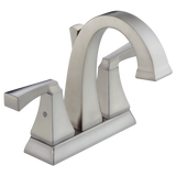 Delta Dryden Two Handle Centerset Lavatory Faucet Metal Pop-up 2551-SSMPU-DST Stainless