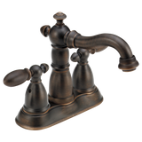 Delta Victorian Two Handle Centerset Lavatory Faucet Metal Pop-up 2555-RBMPU-DST Venetian Bronze