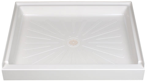 Mustee shower base 42 inch x 34 inch 3442 White