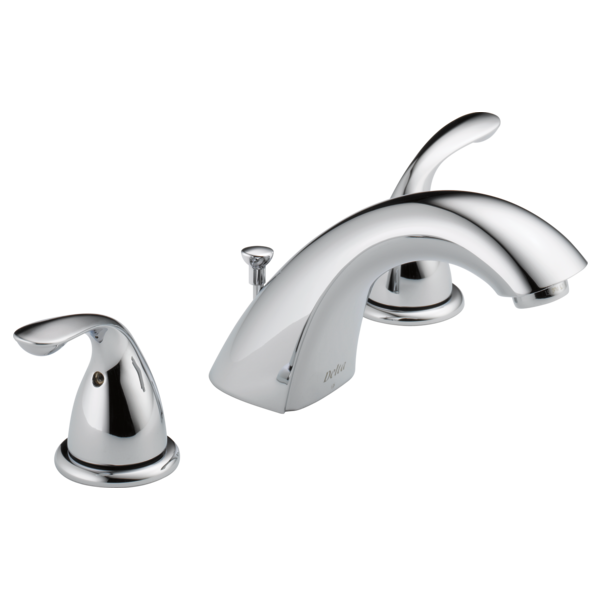 Delta Classic Two Handle Widespread Lavatory Faucet Metal Pop-up 3530LF-MPU Chrome