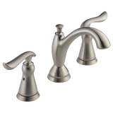 Delta Linden Two Handle Widespread Lavatory Faucet Metal Pop-up 3594-SSMPU-DST Stainless