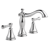 Delta Cassidy Two Handle Widespread Lavatory Faucet Metal Pop-up 3597LF-MPU Chrome