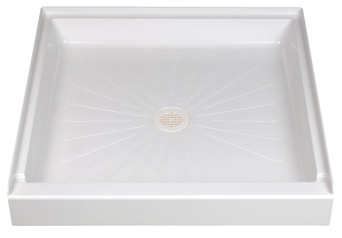 Mustee shower base 36 inch x 36 inch 3636 White