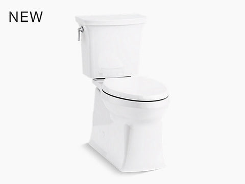 Kohler 3814-0 Corbelle Comfort Height Elongated Toilet