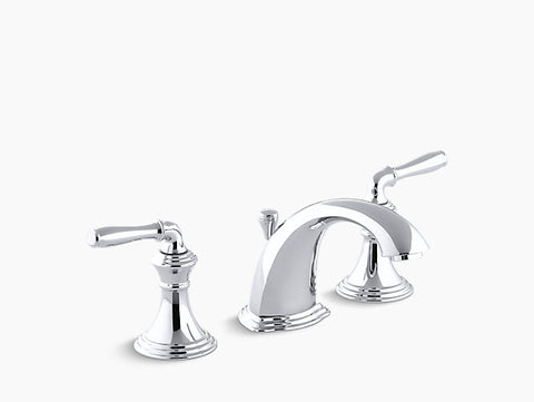Kohler Devonshire Two-Handle Widespread Lavatory Faucet K-394-4-CP