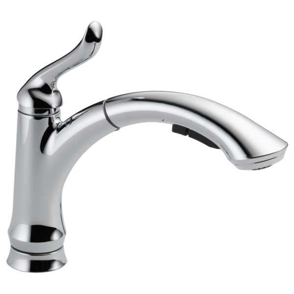 Delta Linden Single Handle Water Efficient Pull-Out Kitchen Faucet 4353-DST Chrome