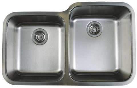 Blanco Stellar 1-3/4 Bowl Reverse Stainless Steel Undermount Kitchen Sink 441261