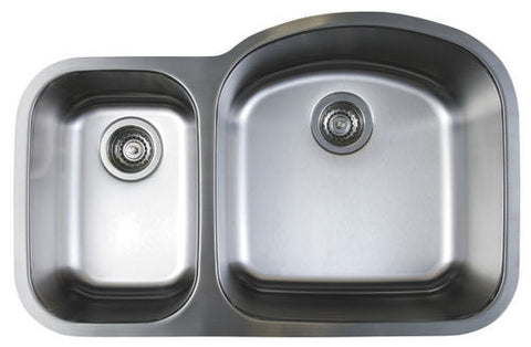 Blanco Stellar 1.6 Bowl Reverse Stainless Steel Undermount Kitchen Sink 441262