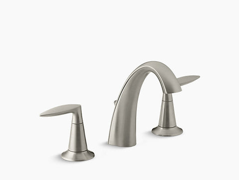 Kohler Alteo Two-Handle Widespread Lavatory Faucet K-45102-4-BN Brushed Nickel