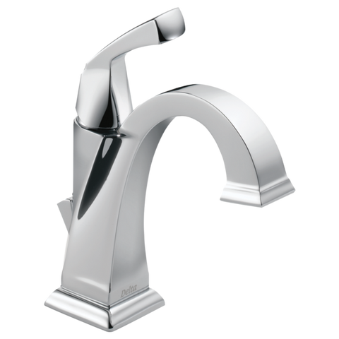 Delta Dryden Single Handle Lavatory Faucet Metal Pop-up 551-DST Chrome