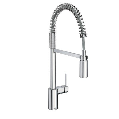 Moen Align One-Handle High Arc Pull-Down Pre-Rinse Kitchen Faucet 5923 Chrome