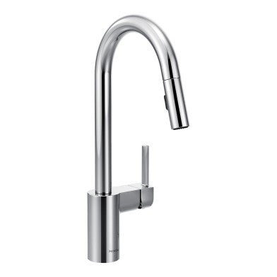 Moen Align One-Handle High Arc Pull-Down Kitchen Faucet 7565 Chrome