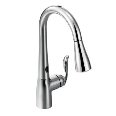 Moen Arbor One-Handle High Arc Pull-Down Kitchen Faucet 7594EC Chrome