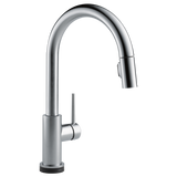 Delta Trinsic Single Handle Pull-Down Kitchen Faucet with Touch2O Technology 9159T-AR-DST Arctic Stainless