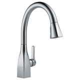 Delta Mateo Single Handle Pull-Down Kitchen Faucet 9183-AR-DST Arctic Stainless