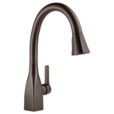 Delta Mateo Single Handle Pull-Down Kitchen Faucet 9183-RB-DST Venetian Bronze