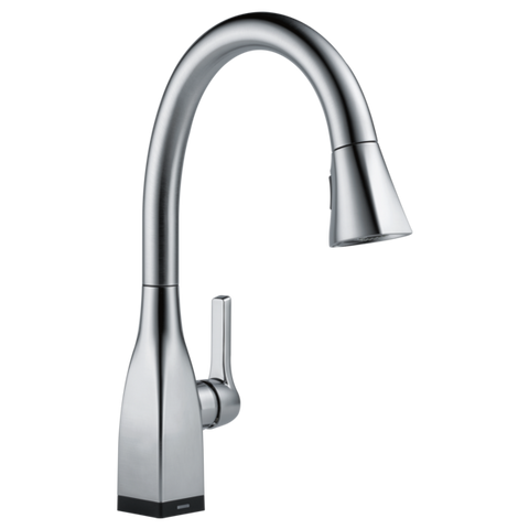 Delta Mateo Single Handle Pull-Down Kitchen Faucet with Touch2O Technology 9183T-AR-DST Arctic Stainless