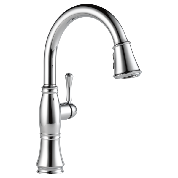 Delta Cassidy Single Handle Pull-Down Kitchen Faucet 9197-DST Chrome