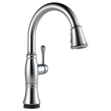 Delta Cassidy Single Handle Pull-Down Kitchen Faucet with Touch2O Technology 9197T-AR-DST Arctic Stainless