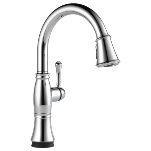 Delta Cassidy Single Handle Pull-Down Kitchen Faucet with Touch2O Technology 9197T-DST Chrome