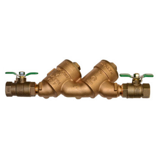 Wilkins 1 inch double check valve backflow preventer 950XLT2
