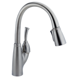 Delta Allora Single Handle Pull-Down Kitchen Faucet 989-AR-DST Arctic Stainless